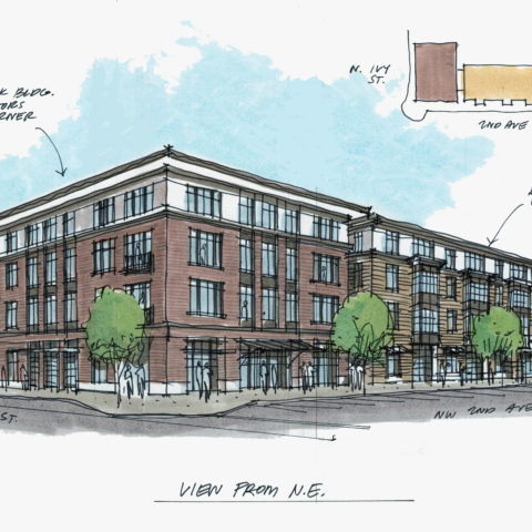 Canby City Center Mixed Use
