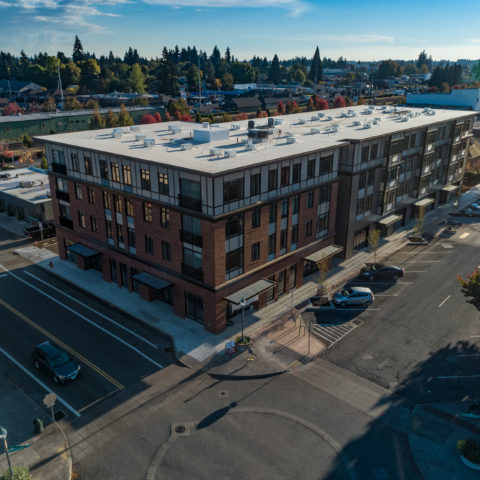 The Dahlia - Canby City Center Mixed Use
